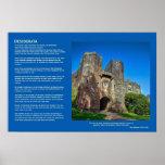 Desiderata Poem - English Castle Entrance Print