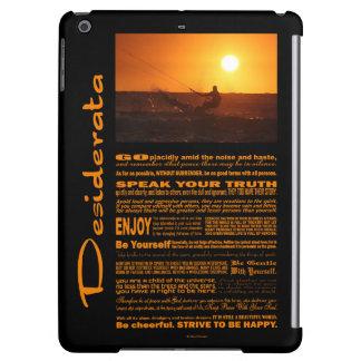 Desiderata Poem Kite Surfer At Sunset
