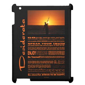 Desiderata Poem Kite Surfer iPad Cases
