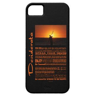 Desiderata Poem Kite Surfer iPhone 5 Cover