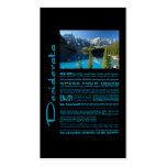 Desiderata Poem Moraine Lake Pack Of Standard Business Cards