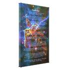 Desiderata Poem, Mystic Mountains - Carina Nebula Canvas Print