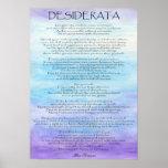 Desiderata Poster