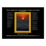 DESIDERATA Sun Setting Posters