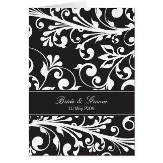 DESIGN 03- Colour Black Greeting Card