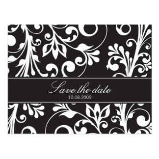 DESIGN 03- Colour: Black Postcard
