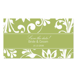 DESIGN 03 Colour Green Business Cards