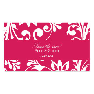 DESIGN 03 Colour: Pink Business Card Template