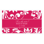 DESIGN 03 Colour: Pink Pack Of Standard Business Cards