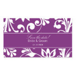 DESIGN 03 Colour: Purple Pack Of Standard Business Cards