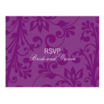 DESIGN 03 - Colour: Purple Postcard