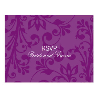 DESIGN 03 - Colour: Purple Postcard