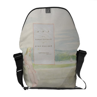 Design 13 for 'Ode on a Distant Prospect of Eton C Courier Bags