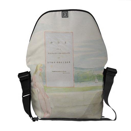 Design 13 for 'Ode on a Distant Prospect of Eton C Courier Bag