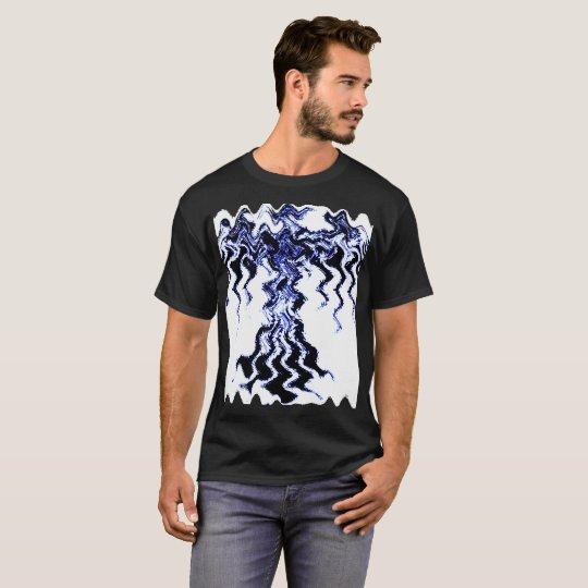 Design #1 Men's Basic Dark T-Shirt, Black T-Shirt