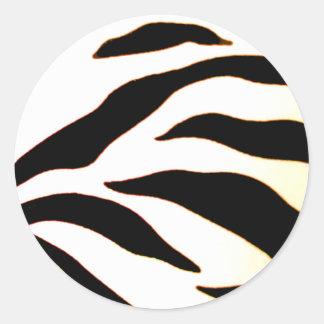 Design 2010-2s1red Black Greenville The MUSEUM Zaz Round Sticker