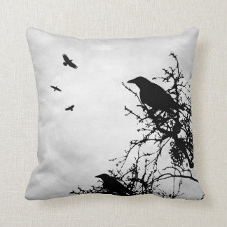 Design 43 Crow Raven Cushion