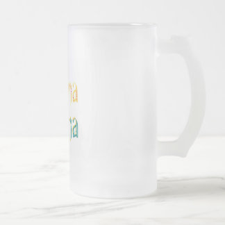 DESIGN AND CREATE YOUR OWN OBAMA MAMA FROSTED GLASS BEER MUG