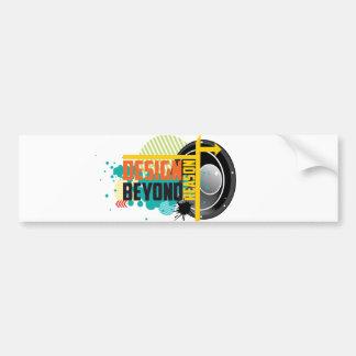 Design Beyond Reason graphic Bumper Sticker