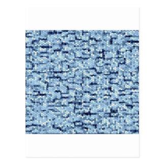 Design- Bluish patch! Postcards