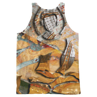 Design Buddha All-Over Print Tank Top
