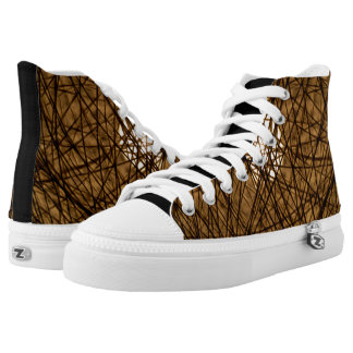 DESIGN BY FRANK MOTHE. Zipz High Top Shoe