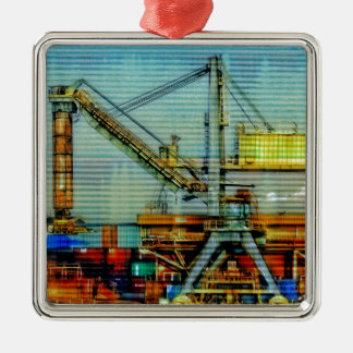 Design crane christmas ornament