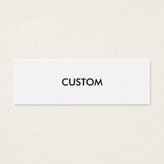 Design Custom Customise Blank Mini Business Card