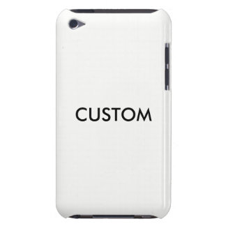 Design Custom Template Blank Barely There iPod Cases