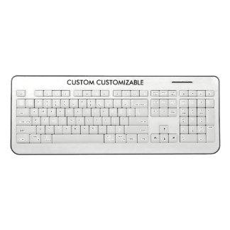 Design Custom Template Blank Wireless Keyboard