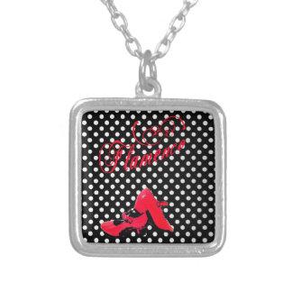 design dances flamenco, modern, alive colors custom necklace