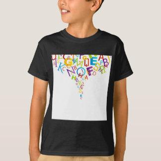 Design element with colorful alphabets T-Shirt