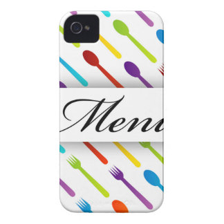 Design element with spoons and fork iPhone 4 case