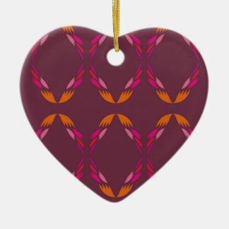 Design elements ethnic Chocolate Christmas Ornament