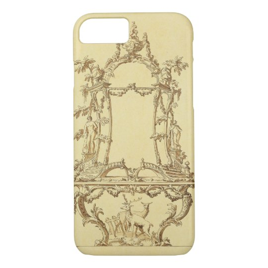 Design for a Console Table (pen & ink wash) iPhone 7 Case