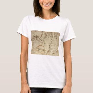 Design for a Flying Machine by Leonardo Da Vinci T-Shirt