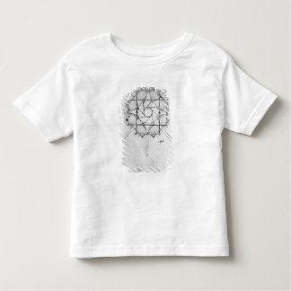 Design for a folding Capstan handle, Fol. 376v-c Toddler T-Shirt