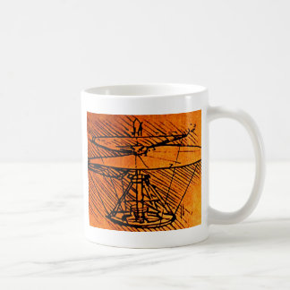 Design For A Helicopter Coffee Mug