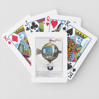 Design for a hot-air balloon with a diameter of 12 poker deck