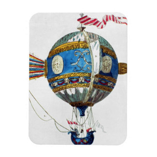 Design for a hot-air balloon with a diameter of 12 rectangular photo magnet