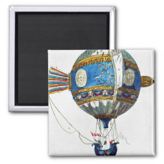Design for a hot-air balloon with a diameter of 12 square magnet