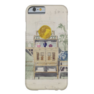 Design for a Sideboard, c.1860s-70s (w/c & pencil Barely There iPhone 6 Case