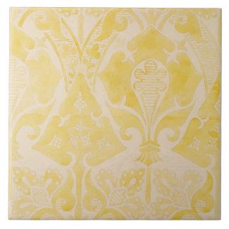 Design for a velvet or silk brocatelle, 1850 (penc large square tile