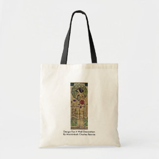 Design For A Wall Decoration Canvas Bags
