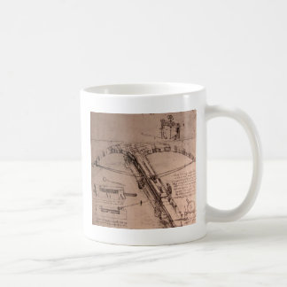 Design for an enormous crossbow classic white coffee mug