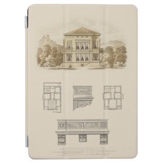 Design for an Estate with Interior Plans iPad Air Cover