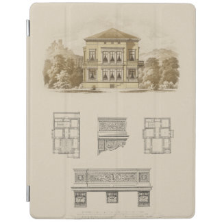 Design for an Estate with Interior Plans iPad Cover