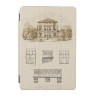 Design for an Estate with Interior Plans iPad Mini Cover