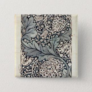 Design for Avon Chintz, c.1886 15 Cm Square Badge