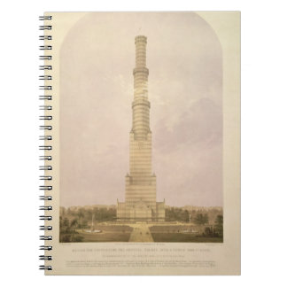 Design for Converting the Crystal Palace into a 10 Notebooks